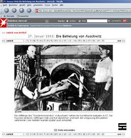 Nicht das Konzentrationslager Auschwitz wird gezeigt, sondern das KZ Dachau