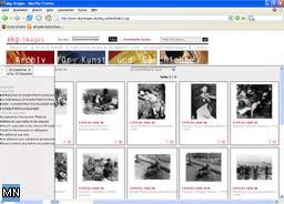 Screenshot am 1.4.2005 vom Portal AKG-Images GmbH