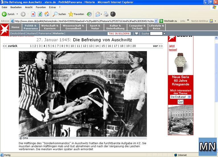 10 Jahre Aufdeckung der falschen Holocaust-Fotos